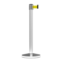 Stanchion Midline Economy Belt Post 3M - Yellow