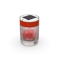Pilot Solar Powered Light - Red