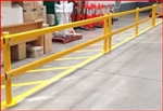 5 metre single rail, (requires 3 posts)