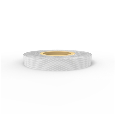 Reflective tape - 50mm x 5mtr, white class 1