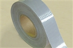 Reflective Tape 50mm x 45m Roll Class 1 - White