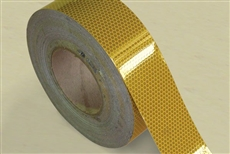 Reflective Tape 50mm x 5m Roll Class 1 - Yellow