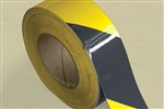 Reflective Tape 50mm x 45m Roll Class 2 - Yellow/Black