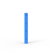 Skinz Bollard Sleeve to suit up to 145mm Diameter, 1400mm High - Disability Blue