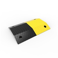 Slo-Motion Steel Standard Duty Speed Hump 500mm - Black/Yellow
