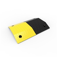 Slo-Motion Steel Heavy Duty Speed Hump 500mm - Black/Yellow