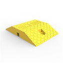 Compliance Speed Hump Body 250mm - LLDPE - Yellow L: 250 x W: 355 x H: 60mm