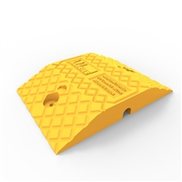 Economy Rubber Medium Duty Speed Hump Body 250mm - Yellow