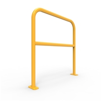 U-Bars Double Rail - U-Bar Double Rail 1 Metre Surface Mount - Galvanised & Powder Coated, Sold Per Each