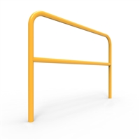 U-Bars Double Rail - U-Bar Double Rail 1.5 Metre Below Ground - Galvanised & Powder Coated, Sold Per Each