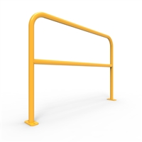 U-Bars Double Rail - U-Bar Double Rail 1.5 Metre Surface Mount - Galvanised & Powder Coated, Sold Per Each