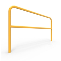 U-Bars Double Rail - U-Bar Double Rail 2 Metre Below Ground - Galvanised & Powder Coated, Sold Per Each