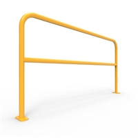 U-Bars Double Rail - U-Bar Double Rail 2 Metre Surface Mount - Galvanised & Powder Coated, Sold Per Each