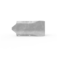 W-Beam - Guard Fence (Type D) - Stubby Nose End Terminal - Galvanised