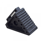 Wheel Chock Moulded Rubber - Large 270 x 155 x 150mm Wt: 3.1kg