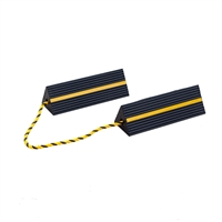 Wheel Chock Aircraft - Large Pair L: 455 x W: 155 x H: 130mm Wt: 14.1kg