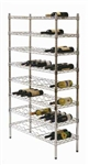 Modular Wine Storage Shelf 355 X 1220mm - Zinc Plated And Clear Epoxy Powder Coat