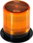 New Cyclone Nova Led Beacon W Bolt-Down Base & Amber Lens