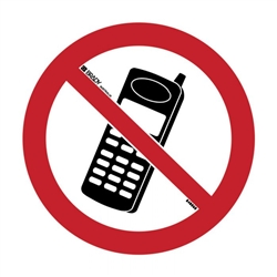 Pictogram - No Mobile Phones - Multiple Options are Available