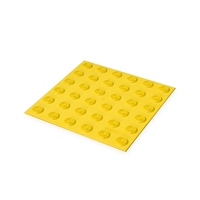 Warning Tactile Pad 300 x 300mm - Yellow TPU
