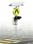 Flashing Pedestrian Crossing Sign LED