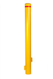 Superior (budget) 90mm Below Ground Bollard Yellow Powder Coated