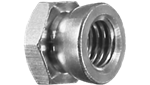 Galvanised Shear Nut 14-20 Torq M8 - Security Fastener Solution