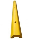 Wheel Stop Yellow - Heavy Duty Plastic