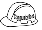 Communications Officer Hard Hat