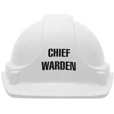Chief Warden Hard Hat