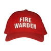 Fire Warden Cap