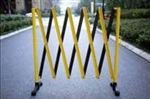 Expanding Barrier - Powder Coated Yellow/Black 3m. x 0.95m.