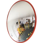 600mm Indoor Convex Mirror & Wall Mount Bracket