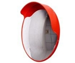600mm indoor/outdoor convex mirror & wall mount bracket
