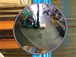 Convex Mirror - 450mm Indoor (Wall & Post Mount Bracket Supplied). Sold Per each
