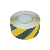 Hazard Stripe Anti Slip Tape 75mm Black/Yellow
