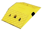 Speed Busters - High Profile HD Rubber Speed Hump Yellow Speed Hump Body 250 X 400 X 70mm c/w cable channel 45x45mm