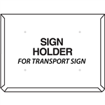 placard holder for 800x600mm hazmat truck placards