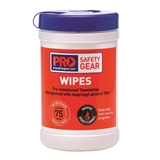 Pro Choice Safety Gear Isopropyl Wipes 75 Wipe Cannister