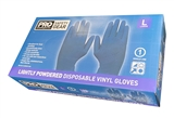 Blue Vinyl Gloves Size Extra Large Box 100