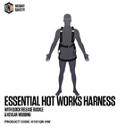 LINQ Essential Hot Works Harness with Quick Release Buckle & Kevlar Webbing (M-L)