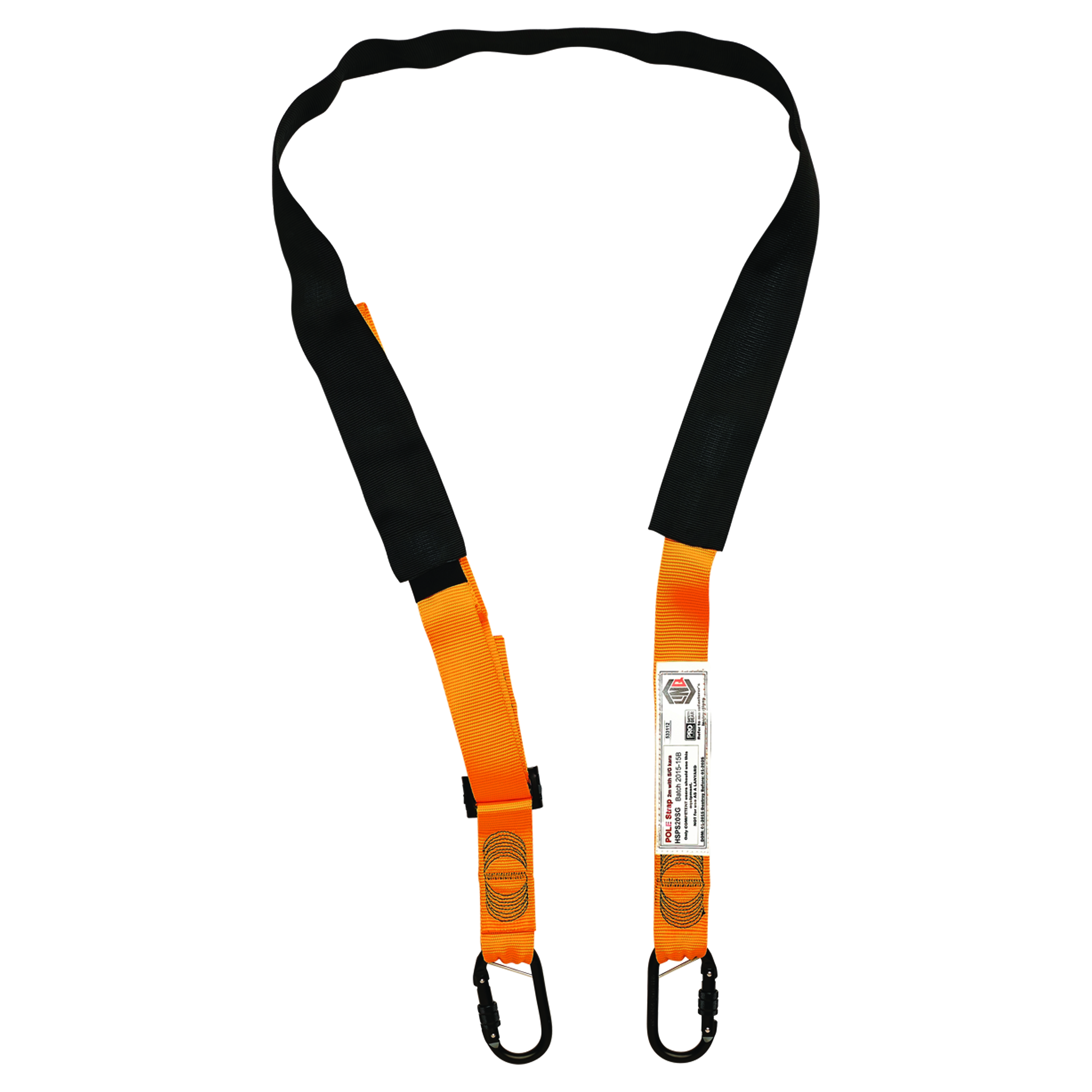 Prochoice Linq Pole Strap 2m. with Double Action Karabiners