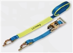 LINQ Ratchet Tie Down 25mm x 5m 0.75T Captive J-Hook