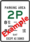 Minor Entry to Parking Area