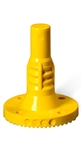 Poly-Flex Surface Mount Bolt Down Yellow Base Only