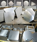 1.6mm thick Aluminium Sign Blanks - Various sizes to choose from