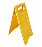 Blank Yellow A Board Plastic