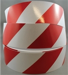 Class 2 Reflective Tape Red/White 50mm x 45.7mtr roll