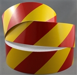 Class 2 Reflective Tape Red/Yellow 50mm x 45.7mtr roll