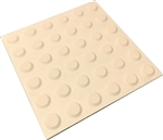 Peel & Stick Tactiles Ivory 300x300mm
